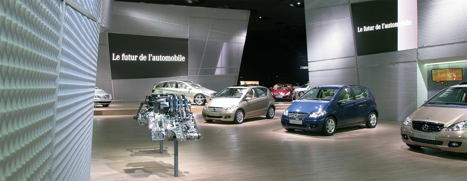 Ausstattung Stand Mercedes
