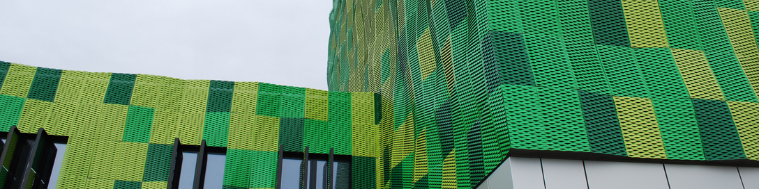 Colore verde facciata