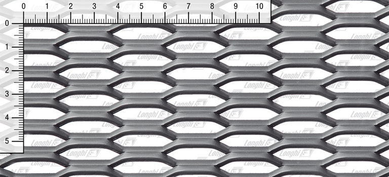 Expanded metal grating in carbon steel Fils20