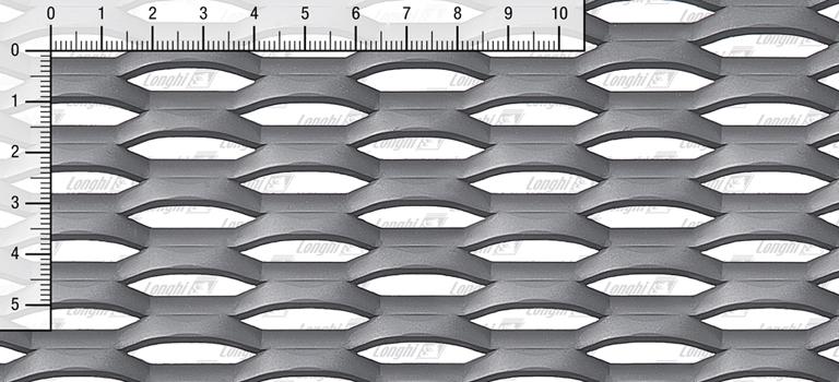 Expanded metal grating in carbon steel Fils21 - Fils22