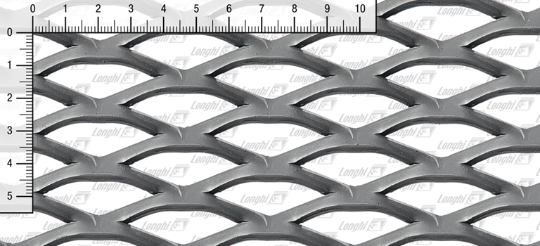 Expanded metal grating in carbon steel P02