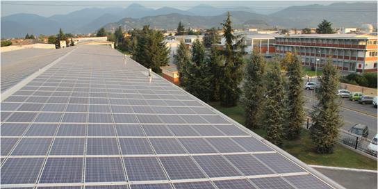 Sistema fotovoltaico L HOLDING
