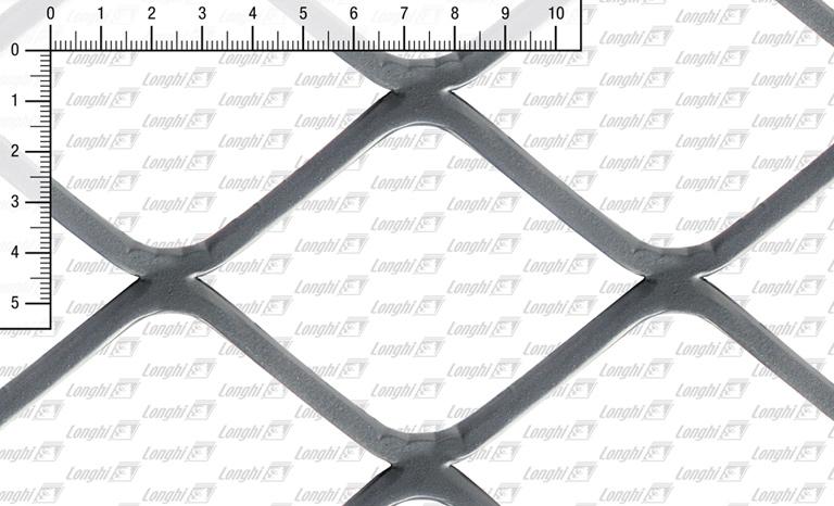 Lamiera stirata maglia quadra spianata Tipo SQ100