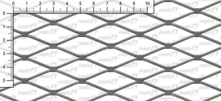 Maglie in rete stirata romboidale spianate S3-S4-S220