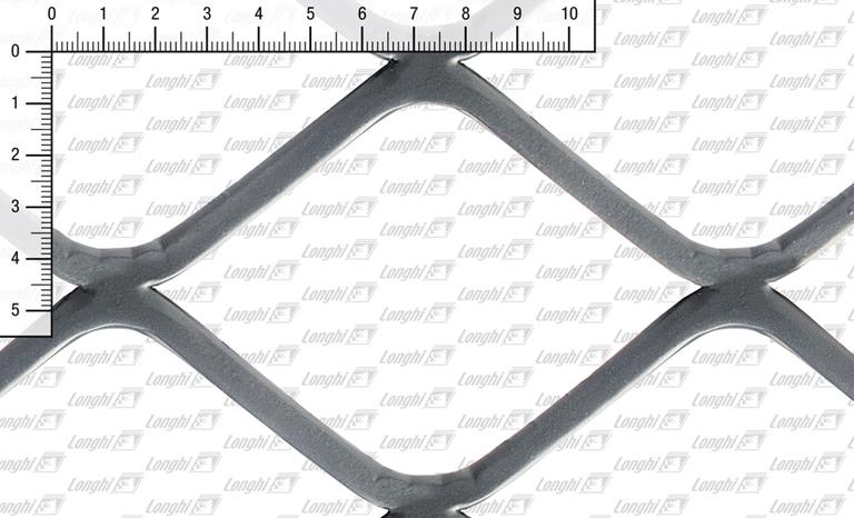 Quadratmaschen aus Stahlblech flachgewalzt Typ SQ120