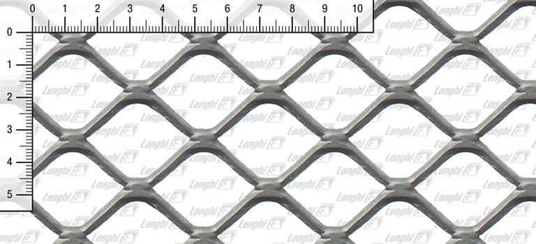 Quadratmaschen aus Stahlblech flachgewalzt Typ SQ40