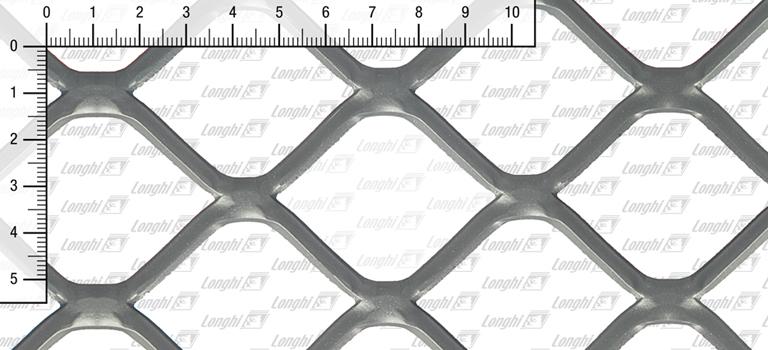 Quadratmaschen aus Stahlblech flachgewalzt Typ SQ60
