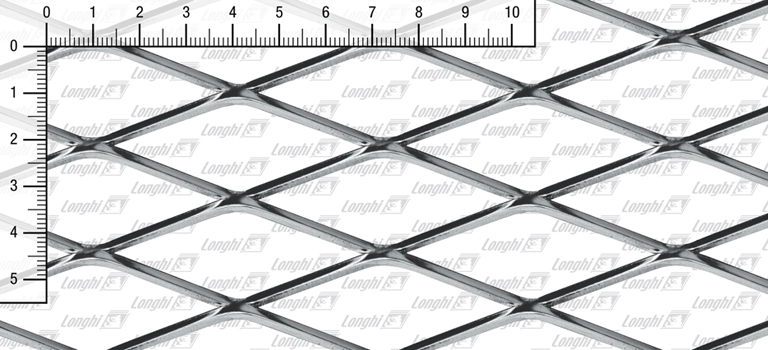 Rautenmaschen edelstahl AISI 304 - Typ N220
