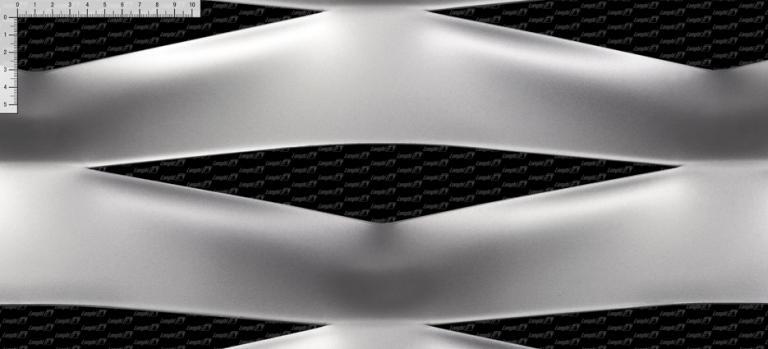 Rete stirata EF400 - Linea maglie metalliche per architettura