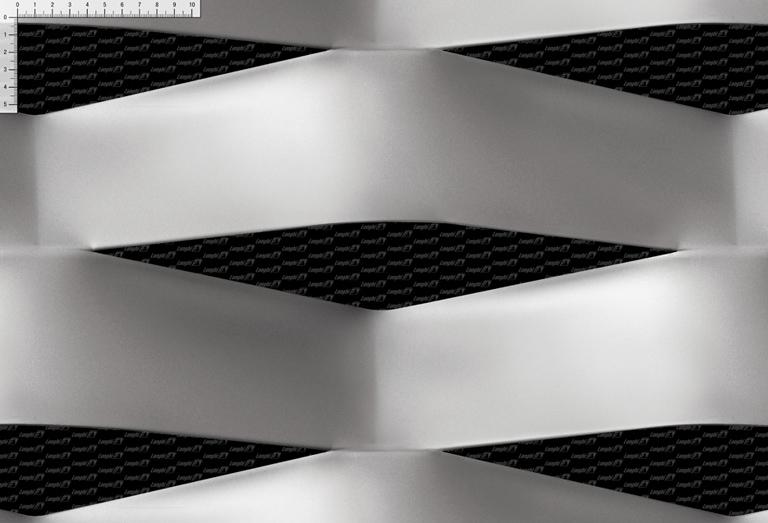 Rete stirata EF400/1 - Linea maglie metalliche per architettura