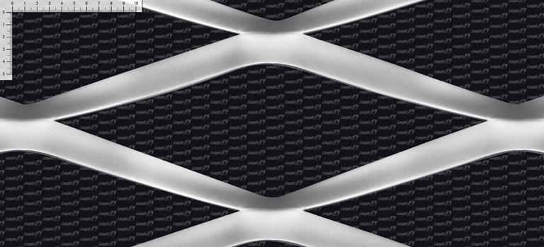 Rete stirata Italy - Linea maglie metalliche per architettura