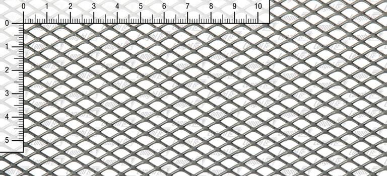 Lamiera Stirata Romboidale Tipi 6610 - 6615