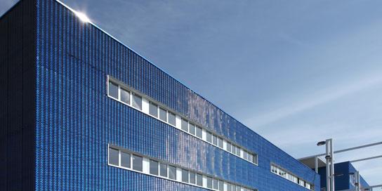 Streckmetall Palasport fassade rendering