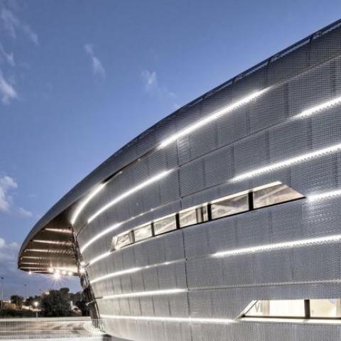 Facciata Azur Arena