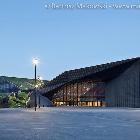 Rivestimento facciata centro congressi internazionale foto 5