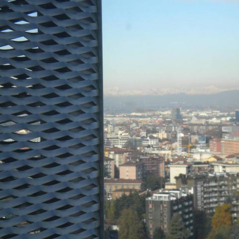 Torre World Join Center vista dall'alto