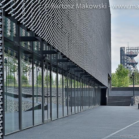 Streckmetall fassade International Conference Centre bild 1