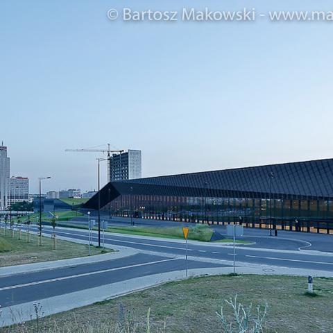 Streckmetall fassade International Conference Centre bild 3