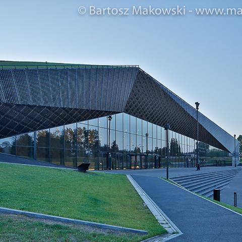 Streckmetall fassade International Conference Centre bild 4