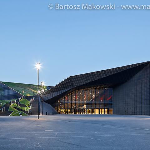 Streckmetall fassade International Conference Centre bild 5