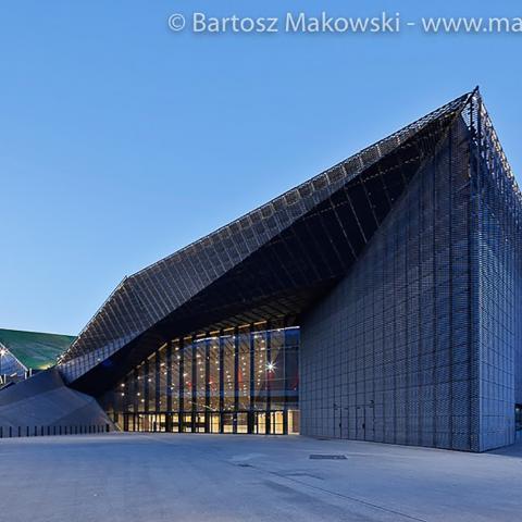 Streckmetall fassade International Conference Centre bild 6