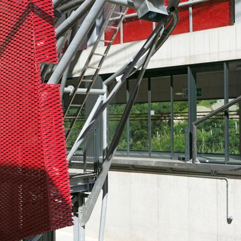 Lamiera stirata GATE - Dettaglio protezione